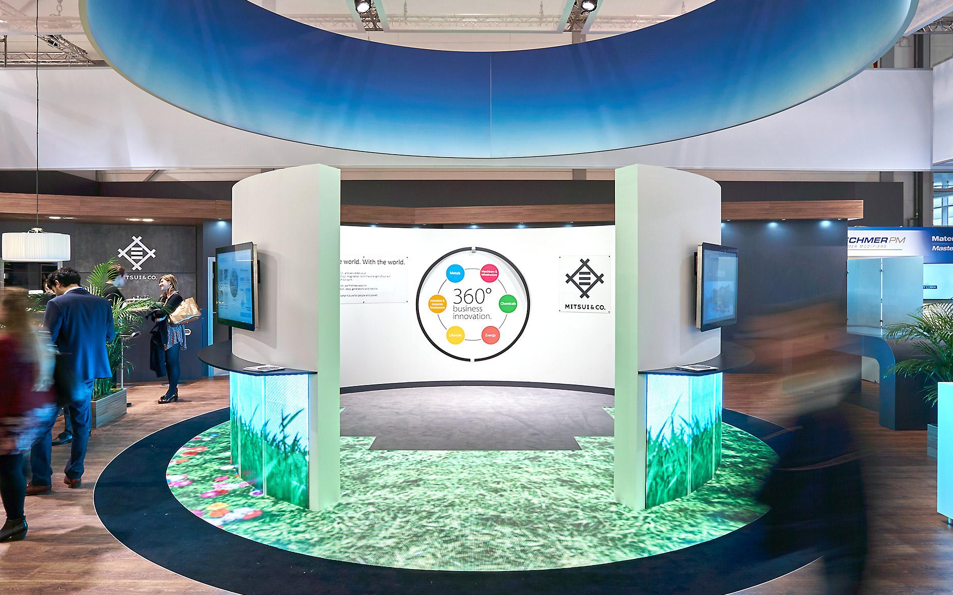 Mitsui K-Messe 2016, Interaktive LED Boden