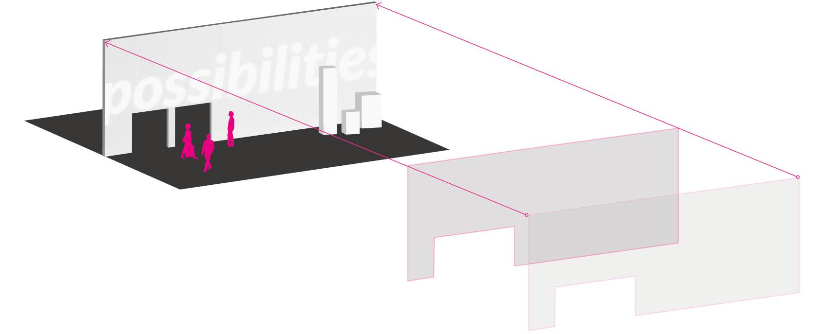 White LED tiles