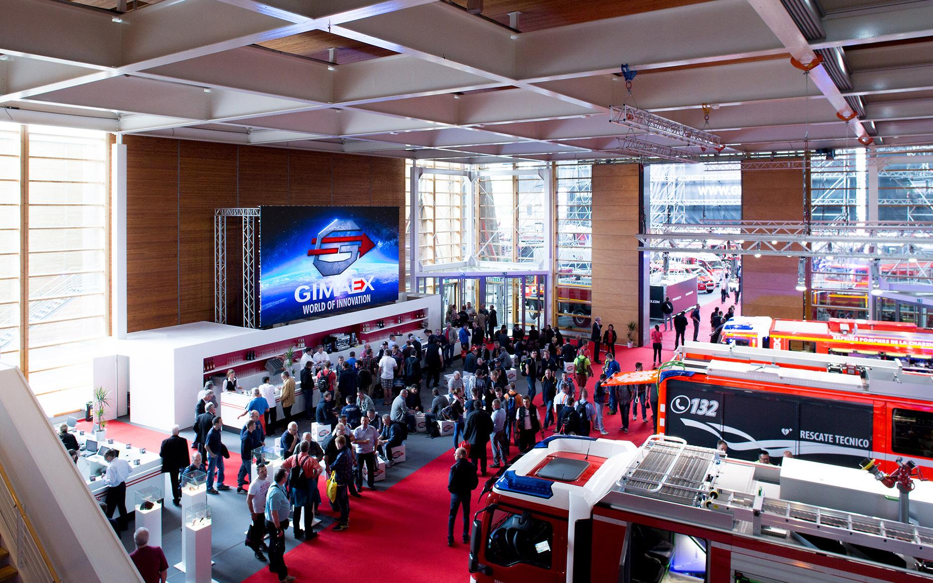 GIMAEX Interschutz 2015, tennagels Medientechnik